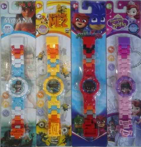 Reloj digital frozen heroes pillama cars moana princesa