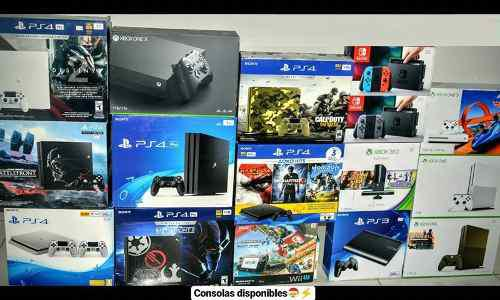 Xbox one s, xbox one x, ps4 pro, ps4 slim, nintendo switch