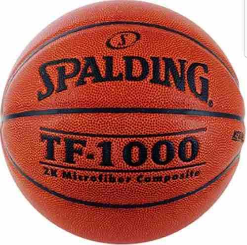 Balon basketball spalding tf1000 cuero 100% original y nuevo 9848e2e696b0e