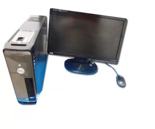 Computadora core 2 duo 4gb 250gbdd 3.0ghz con monitor lcd