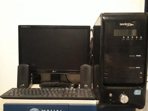 Computadora cpu intel core i3 3.1ghz 4 gb ram 500gb dd