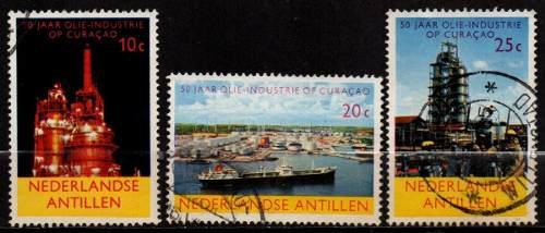 Estampillas Antillas Holandesas 1965 Serie Completa Usadas