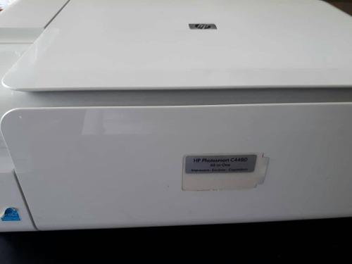 Impresora hp multifuncional 4480 imprime escanea fotocopiado