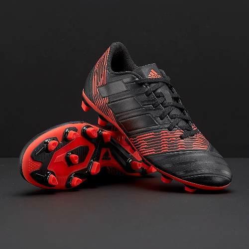 77b02d50922ab Tacos de futbol adidas nemeziz 17.4 clase a 100% original !