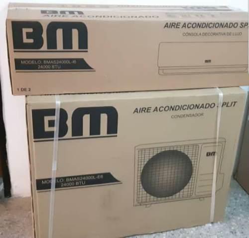 Aire acondicionado 24mil btu consola de lujo bm.