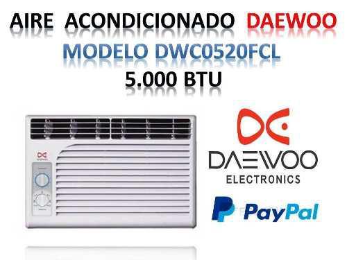 Aire acondicionado ventana de 5000 btu daewoo nuevo oferta