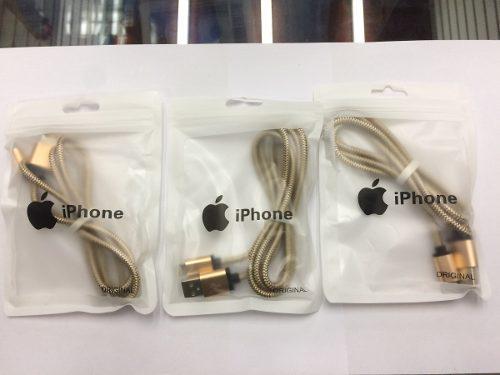 Cable iphone 5s 5g 6g 6plus 1m buena calidad somos tienda