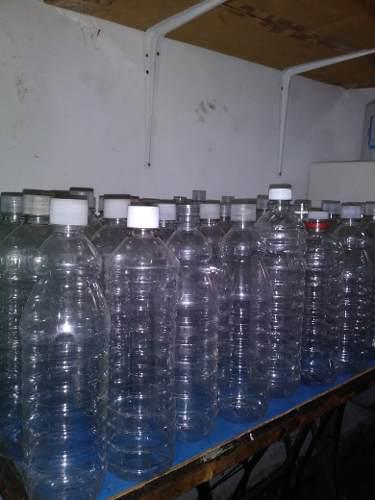 Envases Plasticos Transparentes Para Reusar 1 Litro Y 900 C