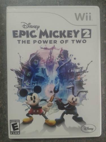 Juego wii epic mickey 2 original