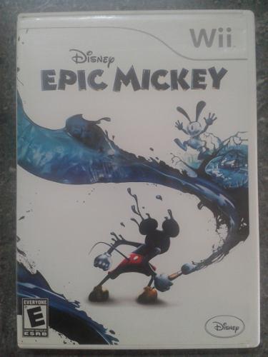 Juego wii epic mickey original