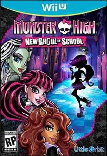 Juego wii u monster high new ghoul in school nintendo nuevo!