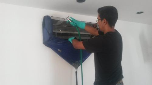 Servicio mantenimiento aire acondicionado split y portátil