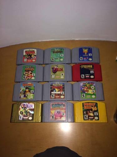 Juegos de nintendo 64 originales