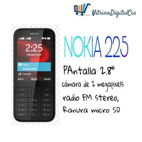 Telefonko Nokia 225