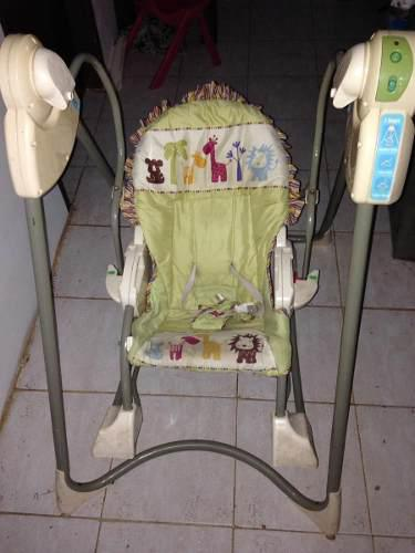 Columpio fisher price y andadera chicco