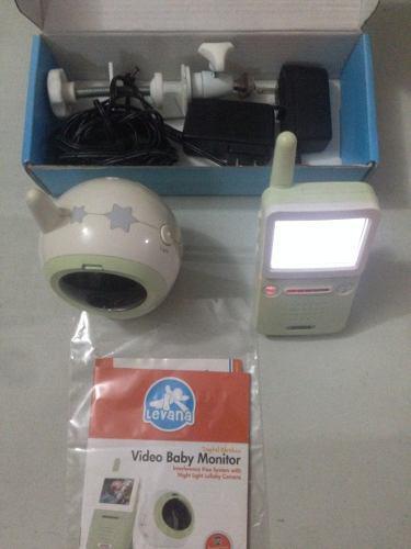 Digital video monitor para bebe marca levano modelo babyview