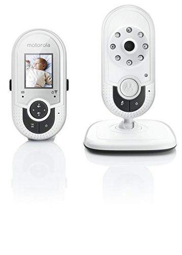 Monitor video y audio para bebé. motorola. pantalla a color