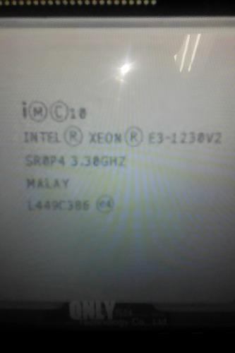 Procesador Servidor 3.30ghz Intel Xeon E3 1230 V2 1155 Usado