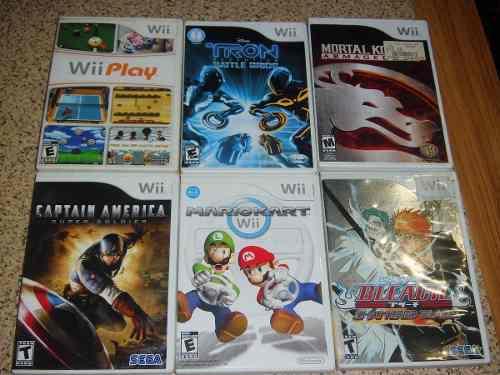 Vendo O Cambio Juegos De Wii Originales