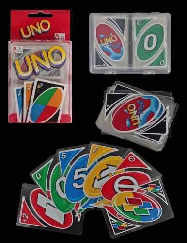 Cartas uno h2o mattel juego original de mesa niños