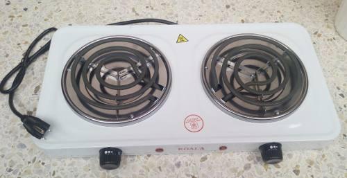 Cocina electrica 2 hornillas 110v 2000w