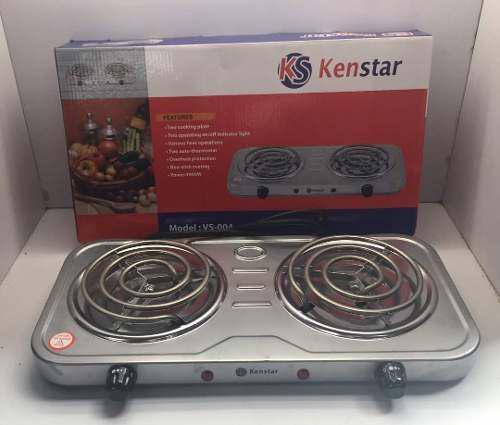 Cocina electrica dos hornillas marca kenstar