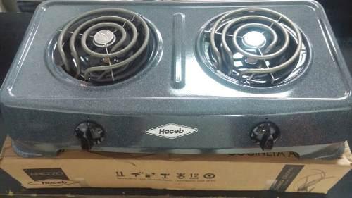 Cocina electrica haceb 2 hornillas