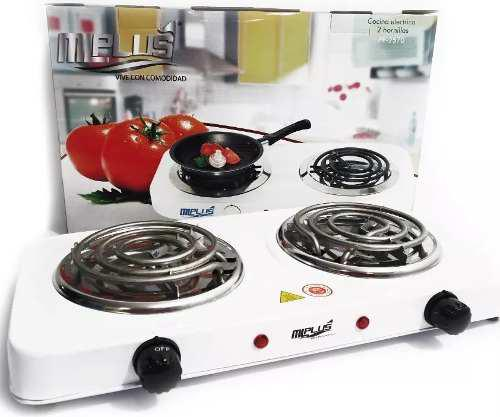 Cocina electrica portatil 2 hornillas 110v 2000w original