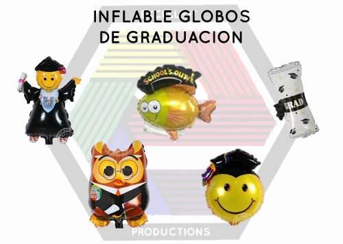Inflables globos de graduacion al mayor
