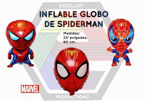 Inflables globos de spiderman al mayor