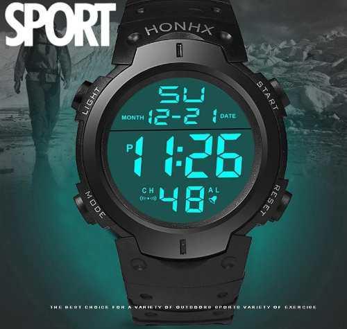 Reloj militar tactico deportivo marca multifuncional led
