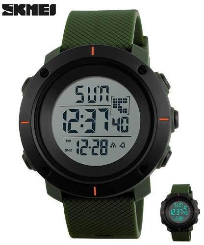 Reloj militar tactico marca skmei multifuncional led
