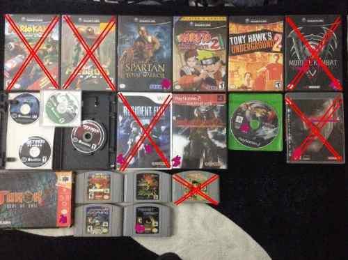 Juegos n64/gamecube/ps2/wii *lea descripción por favor*