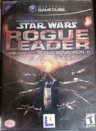 Star wars rouge squadron 2: rouge leader gamecube coleccion