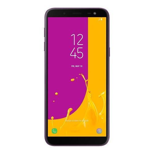 Telefono android samsung j6 32gb lector de huellas +forro
