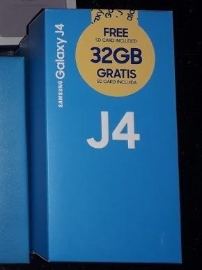 Teléfono samsung j4 2018 32 gb + 32 gb y 16 gb + 32 gb