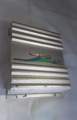 Amplificador de sonido power acoustik 240 de 4 salidas usa