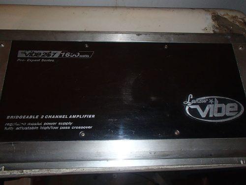Amplificador lanzar 2 canales 1600