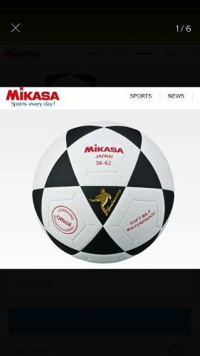 Balon futsal futbol sala nº 4 mikasa sk62 bote bajo 762cb1ad19810
