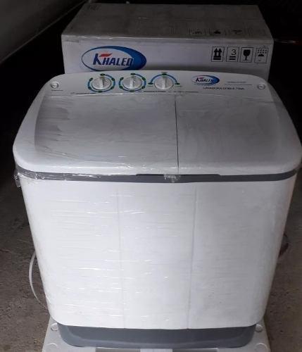 Lavadora doble tina semi automatica 7 kilos khaled