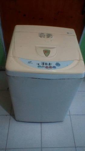 Lavadora lg de 6 kg automática usada