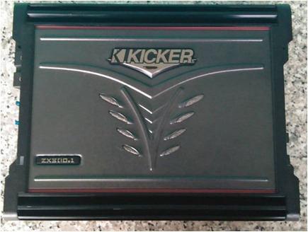 Planta amplificador kicker zx350.4 usada