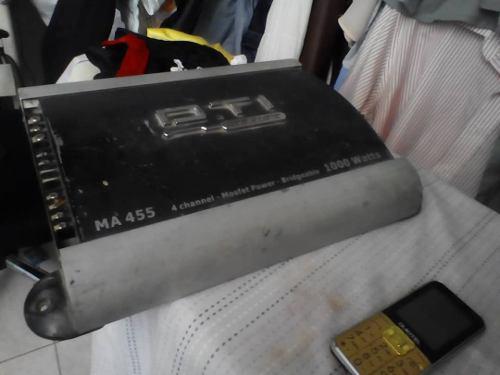 Planta dti amplificador 1000 vatios watts 4 canales