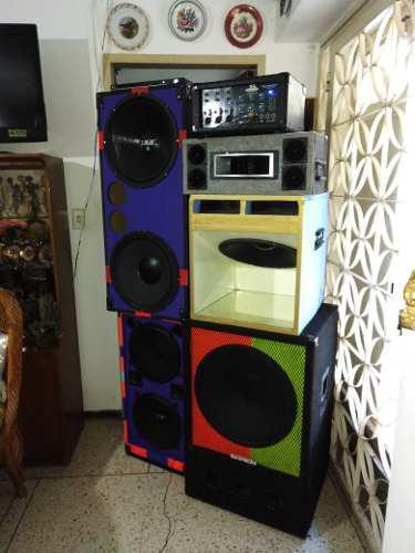 Sonido cajones amplificador 350$