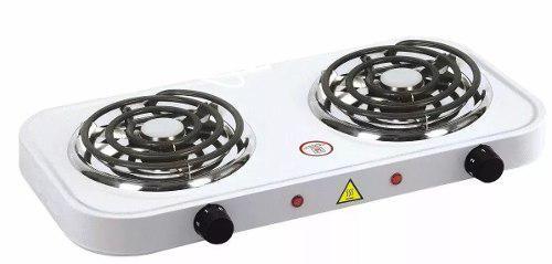 Cocina electrica de dos hornillas hot plate 2000w nuevas