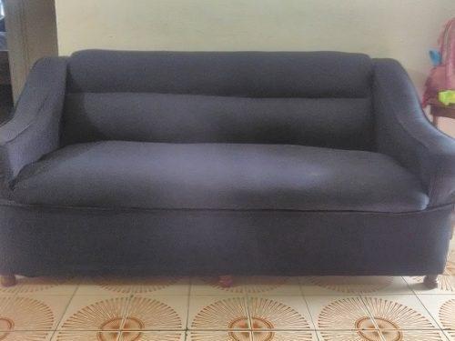 Juego de muebles azul marino de 5 puestos
