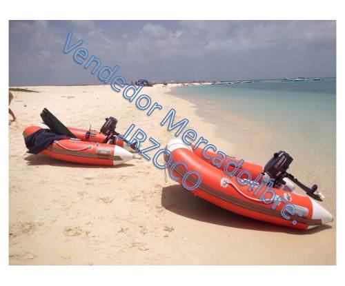 Mini dinghy súper light con motor fuera de borda dingui