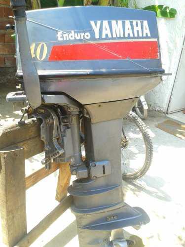 Motor yamaha enduro 40 hp pata lisa