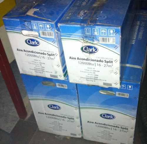 Remate oferta aire acondicionado clark split 12000 btu 220v