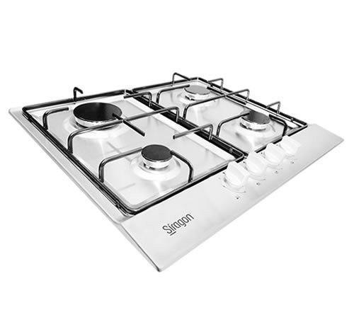 Tope de cocina 4 hornillas a gas 60cm marca siragon cod 3060